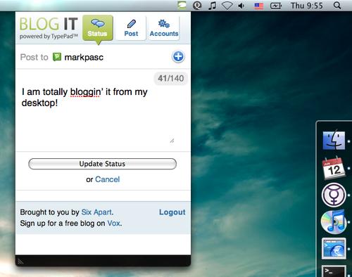 Blog-it-desktop